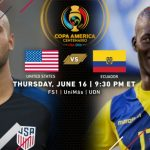 USA Vs Ecuador Quarter-Final Copa America 2016 Preview [Start Time], Squads and Winning Prediction