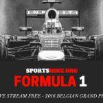 Formula 1 Live Stream Free – 2016 Belgian Grand Prix