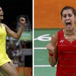 PV Sindhu vs Carolina Marin