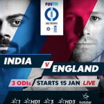 India vs England 3rd ODI Live on Hotstar, DD National, Star Sports